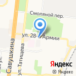 Визави на карте Астрахани