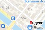 Схема проезда до компании Юниплат в Астрахани
