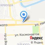 Диз-топ на карте Астрахани