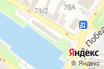 Схема проезда до компании Ван в Астрахани