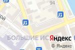 Схема проезда до компании Мир камней в Астрахани