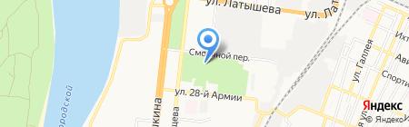Центр содействия трудоустройству выпускников на карте Астрахани