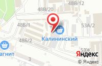 Схема проезда до компании Океан огней в Астрахани