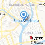 Право на карте Астрахани