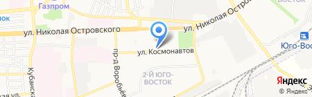 Большая кружка на карте Астрахани