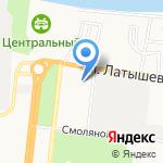 Прогимназия №3 на карте Астрахани