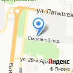 Колледж строительства и экономики на карте Астрахани