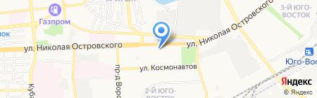 Юго-Восток №2 на карте Астрахани