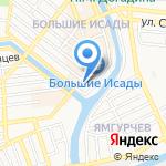 Никта на карте Астрахани