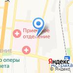 Патологоанатомическое бюро на карте Астрахани
