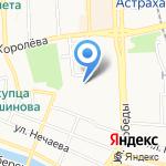 Магазин отделочных материалов на карте Астрахани