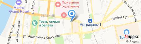 АТЛ Сервис Плюс на карте Астрахани