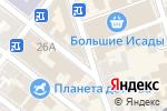 Схема проезда до компании Магазин по продаже мяса в Астрахани