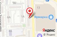 Схема проезда до компании Ростехинвентаризация-Федеральное БТИ в Астрахани