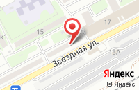 Схема проезда до компании Термо-Лайф в Астрахани
