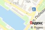 Схема проезда до компании Фортуна в Астрахани