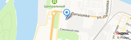 УФК на карте Астрахани