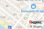 Схема проезда до компании Ахмат в Астрахани