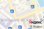 Схема проезда до компании Золотая Роза в Астрахани