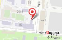 Схема проезда до компании Астраханский колледж строительства и экономики в Астрахани
