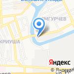 Element на карте Астрахани