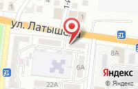Схема проезда до компании Оздоровительный кабинет в Астрахани