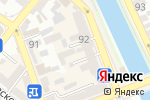 Схема проезда до компании Мир посуды в Астрахани