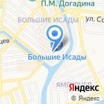Камуфляж на карте Астрахани
