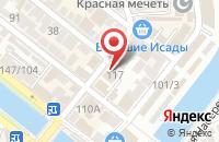 Схема проезда до компании Веломастер в Астрахани