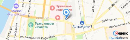 Сказка на карте Астрахани