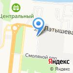 Центр восстановительной медицины и реабилитации на карте Астрахани