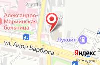 Схема проезда до компании Интермед в Астрахани