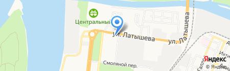 Аст Клининг на карте Астрахани