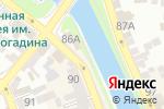 Схема проезда до компании Зеленый Сад в Астрахани