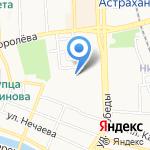 Магазин товаров для рыбалки на карте Астрахани