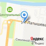 Милайт на карте Астрахани