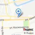 Центр по ремонту изделий из пластика на карте Астрахани