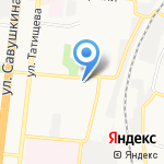 Вероника на карте Астрахани