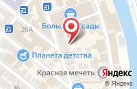 Схема проезда до компании Время Роста! в Астрахани