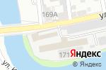 Схема проезда до компании Element в Астрахани