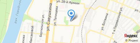 ЕИРЦ на карте Астрахани