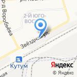 FriendБарс на карте Астрахани