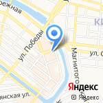 Чародейка на карте Астрахани
