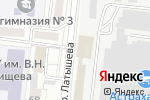 Схема проезда до компании Жизнь замечательных людей в Астрахани