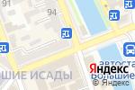 Схема проезда до компании Диамант в Астрахани