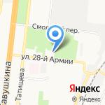 Астраханская Баскетбольная Лига на карте Астрахани