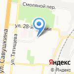 АмоЦРМ на карте Астрахани