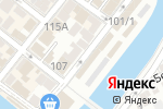 Схема проезда до компании АГИССА-Ломбард в Астрахани