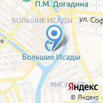 Магазин часов на карте Астрахани