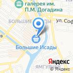 Хрусталёф на карте Астрахани